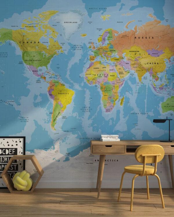 Kaufen Designer Fototapeten Bright Traveller | 3d tapeten