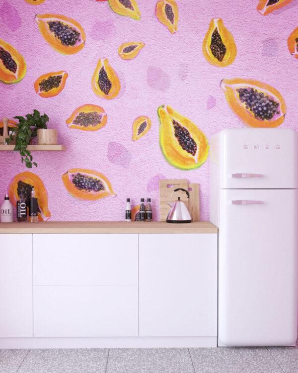 Design Fototapeten Fruity Pinko | fototapete natur