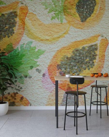 Design Fototapeten Fruity Seed | fototapete natur