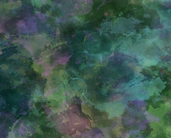 Kaufen Fototapeten Soapbubbles Stardust Beispiel Grün | 3d tapete