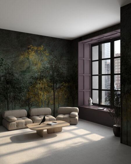 Kaufen Designer Fototapeten Sylvicult Olive | 3d tapete