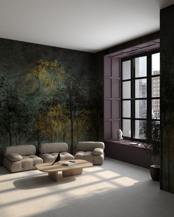 Kaufen Designer Fototapeten Sylvicult Olive   3d tapete