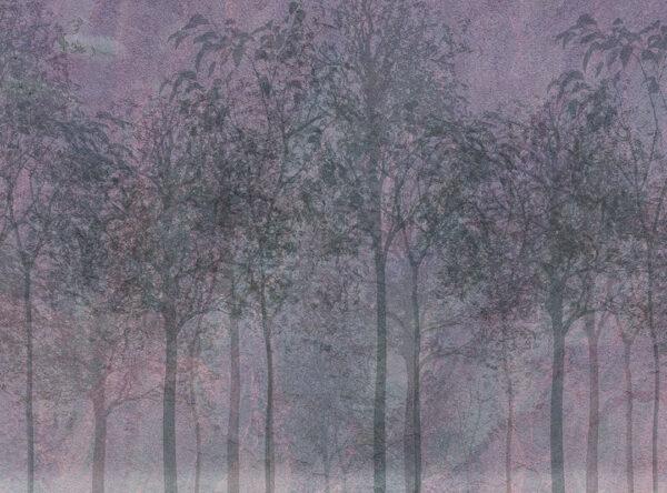 Design Fototapeten Sylvicult Cocoa Beispiel lila   fototapete natur