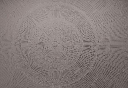 Designer Fototapeten Сerchio Sand Beispiel Grau | 3d tapete