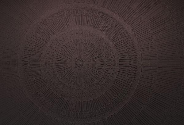 Designer Fototapeten Сerchio Sand Beispiel das Schwarze | 3d tapete