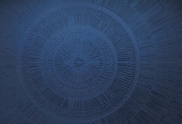 Designer Fototapeten Сerchio Sand Beispiel blau | 3d tapeten