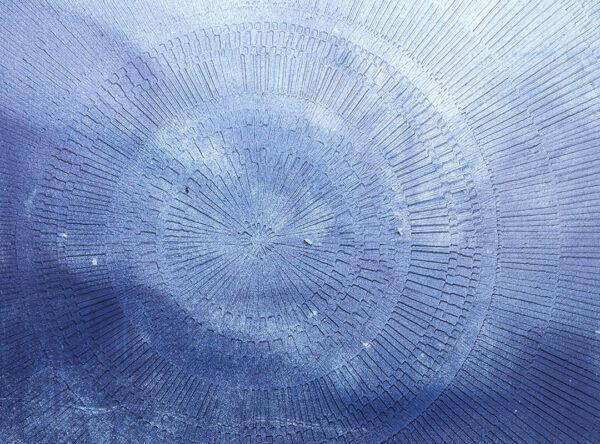 Kaufen Designer Fototapeten Сerchio Sky Beispiel blau | 3d fototapete badezimmer
