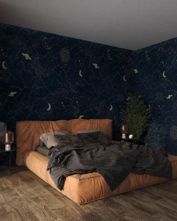 Kaufen Designer Fototapeten Welkin Dark | fototapete schlafzimmer