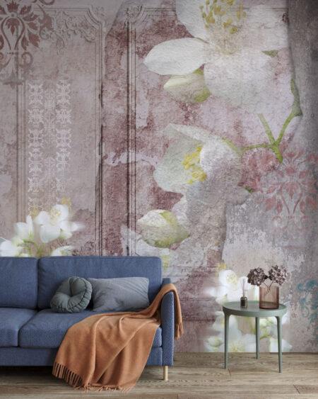 Kaufen Designer Fototapeten Venice Pink | 3d tapeten