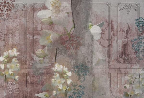 Kaufen Designer Fototapeten Venice Pink Beispiel | 3d tapete