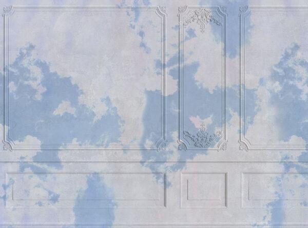 Kaufen Designer Fototapeten Venice Blue clouds Beispiel   3d tapeten