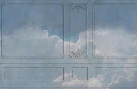 Original Designer Fototapeten Venice Clouds Beispiel Dämmerung | 3d tapete