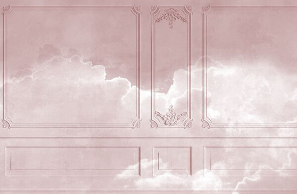 Original Designer Fototapeten Venice Clouds Beispiel Sonnenuntergang | 3d tapete