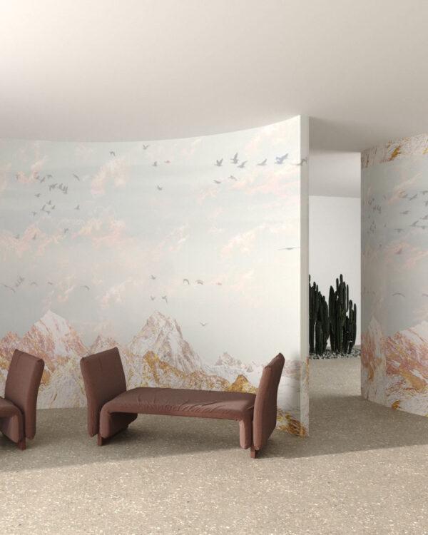 Design Fototapeten Freedom White Mountains | wand tapeten