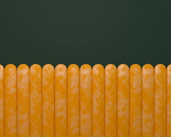 Kaufen Designer Fototapeten Equalizer Gelb Horizontal Beispiel grüner Hintergrund | 3d tapete