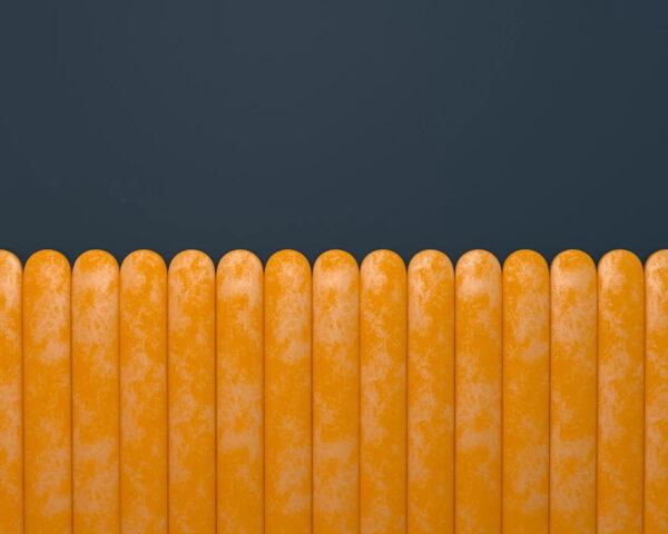 Kaufen Designer Fototapeten Equalizer Gelb Horizontal Beispiel Blauer Hintergrund | 3d tapete
