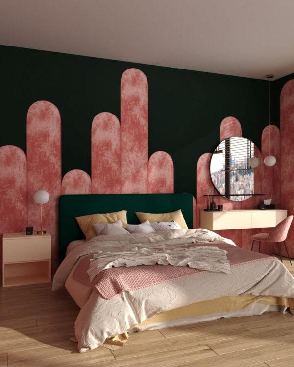 Fototapeten Equalizer Pink Crankle | 3d tapete schlafzimmer