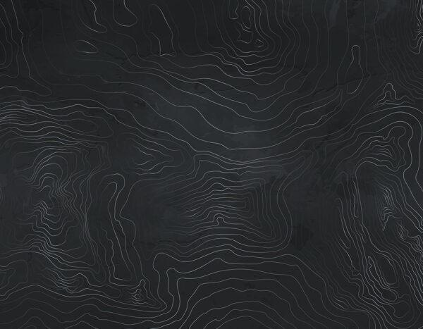 Kaufen Designer Fototapeten Linear Black Beispiel helles Schwarz | 3d tapeten