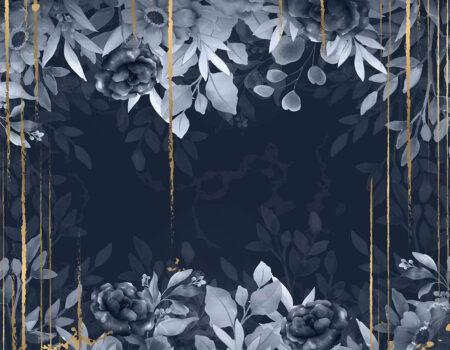 Fototapeten Blues & Gold Beispiel | fototapete natur