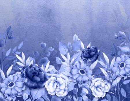 Design Fototapeten Blues & Lavender Beispiel hellblau | fototapete natur