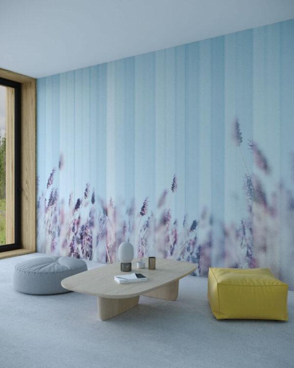 Designer Fototapeten Clarity Blue | 3d tapeten wohnzimmer