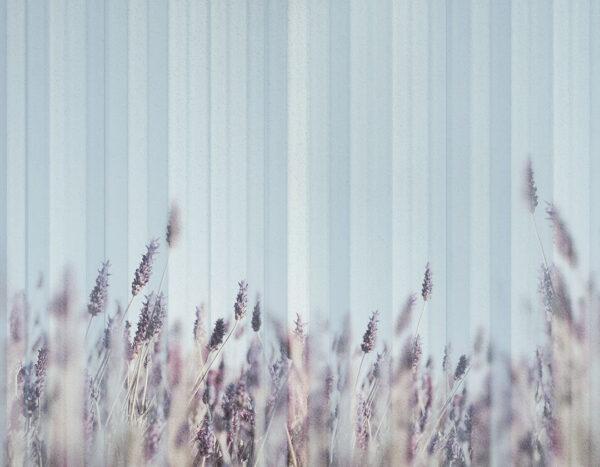 Designer Fototapeten Clarity Blue Beispiel | 3d tapeten wohnzimmer