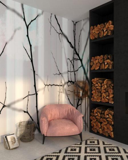 Design Fototapeten Clarity White | fototapete natur
