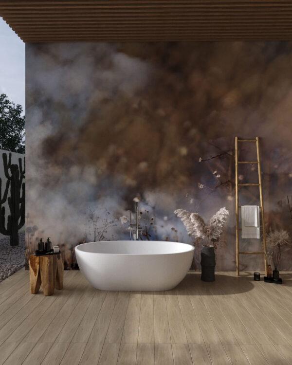 Design Fototapeten Clarity Smoke | fototapete badezimmer