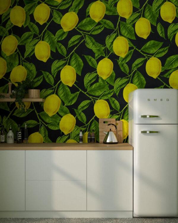 Fototapeten Lemons | 3d tapete