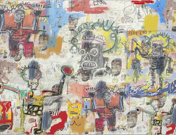 Designer Fototapeten Graffiti Saints Beispiel | 3d tapete schlafzimmer