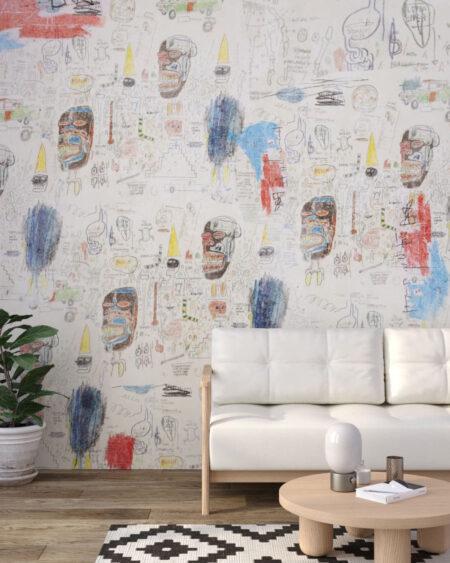 Designer Fototapeten Graffiti Light | 3d tapete