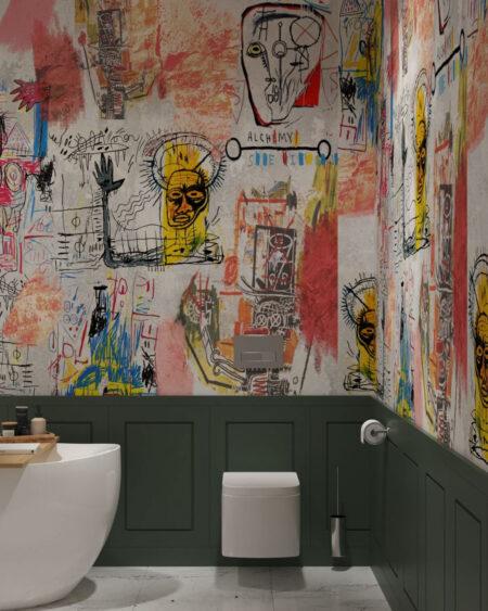 Designer Fototapeten Graffiti Bright | 3d tapete
