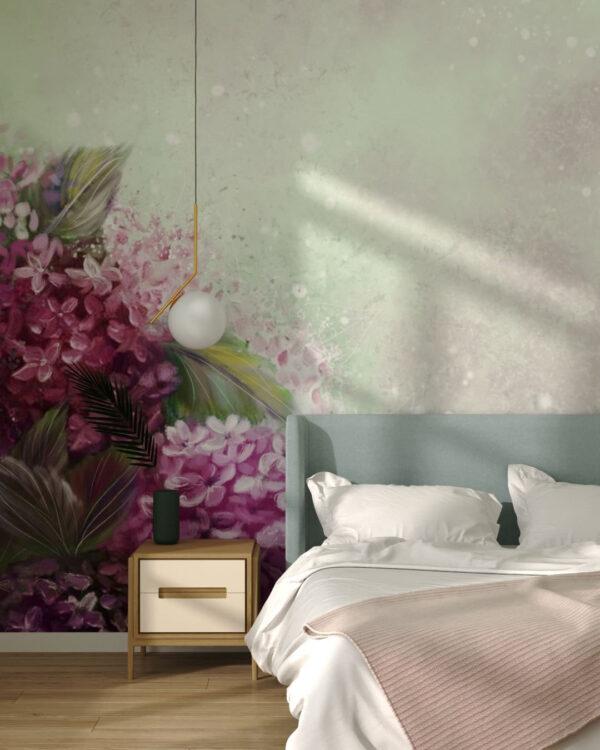 Design Fototapeten Bloom Hydrangea | fototapete natur