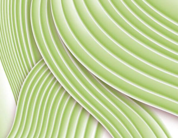 Designer Fototapeten Plastic Color Beispiel Grün | fototapeten 3d