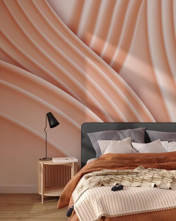 Kaufen Designer Fototapeten Plastic Peach | 3d tapete