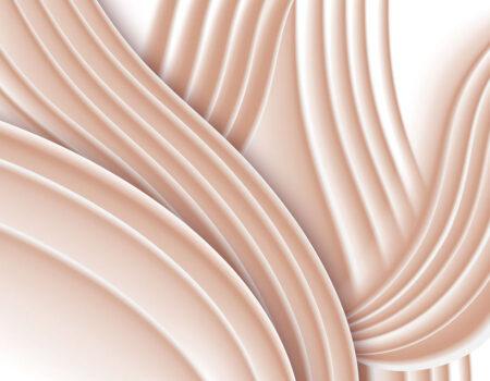 Kaufen Designer Fototapeten Plastic Peach Beispiel  3d tapete