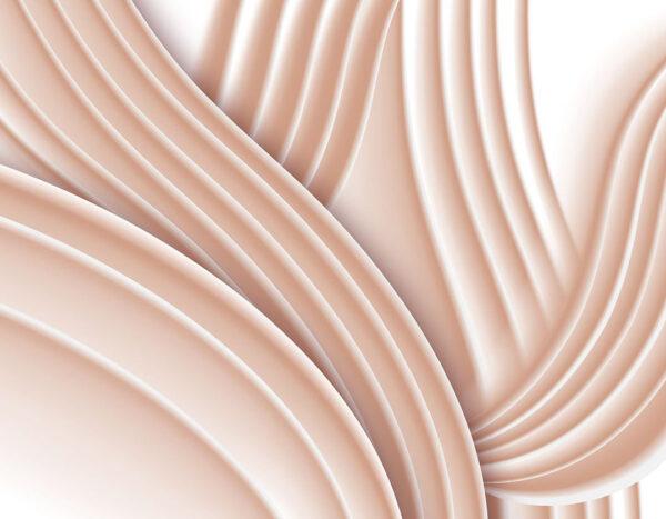 Kaufen Designer Fototapeten Plastic Peach Beispiel| 3d tapete