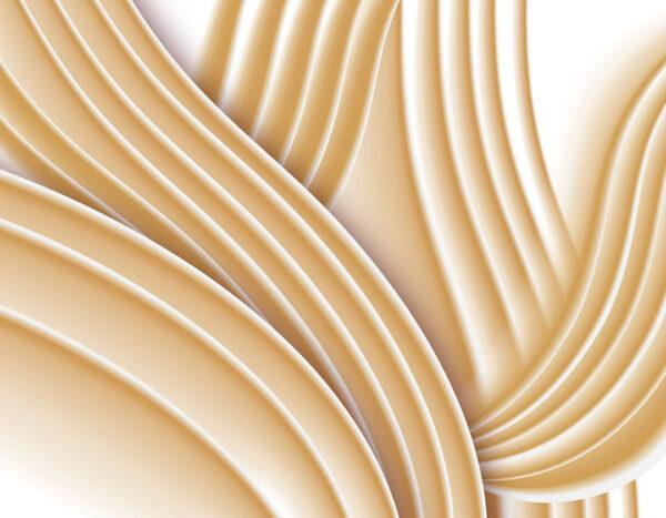 Kaufen Designer Fototapeten Plastic Gelb Beispiel| 3d tapete