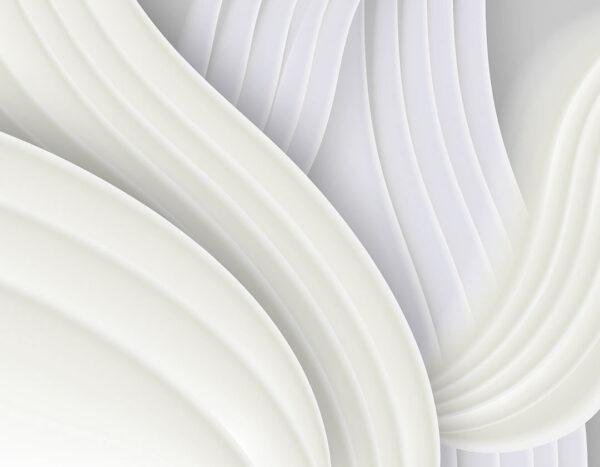 Kaufen Designer Fototapeten Plastic Weiß Beispiel| 3d tapete