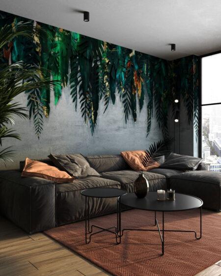 Fototapeten 3D Forest Green | fototapete natur