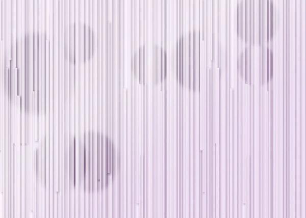 Kaufen Designer Fototapeten Glyph Circles Beispiel lila | 3d tapete