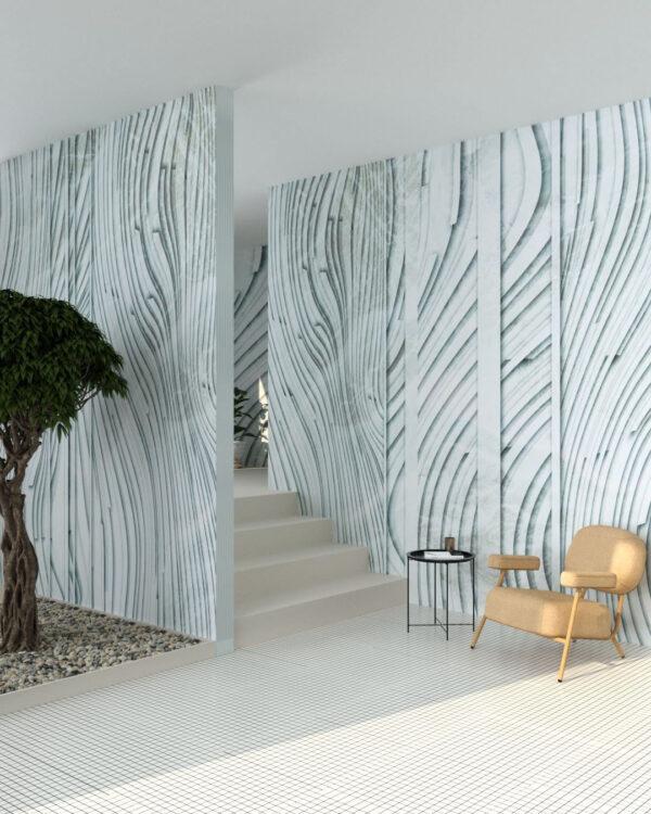 Kaufen Designer Fototapeten Glyph Grey | 3d tapeten