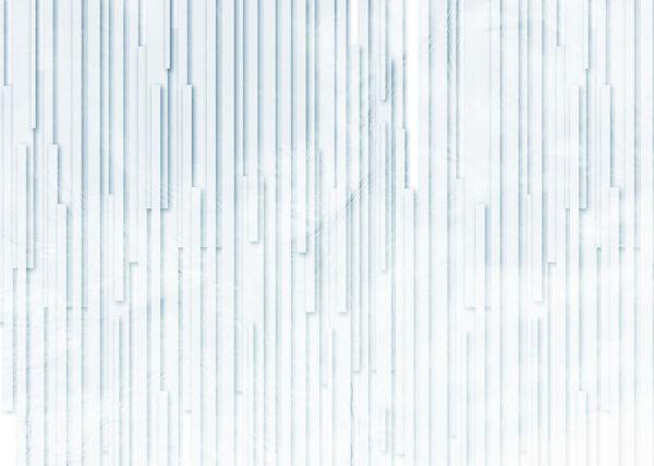 Kaufen Designer Fototapeten Glyph Blue Beispiel | 3d tapete