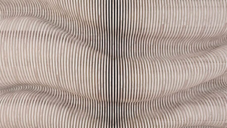 Original Designer Fototapeten Contenido Gentle Beispiel grau | 3d tapeten