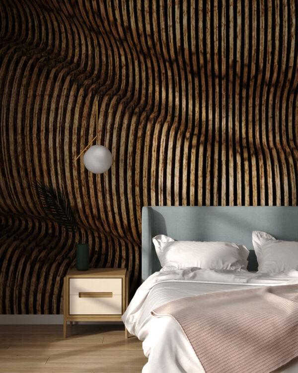 Kaufen Fototapeten Wood Butternut | 3d tapete