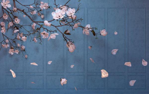 Kaufen Fototapeten Autunno Blue | 3d fototapeten