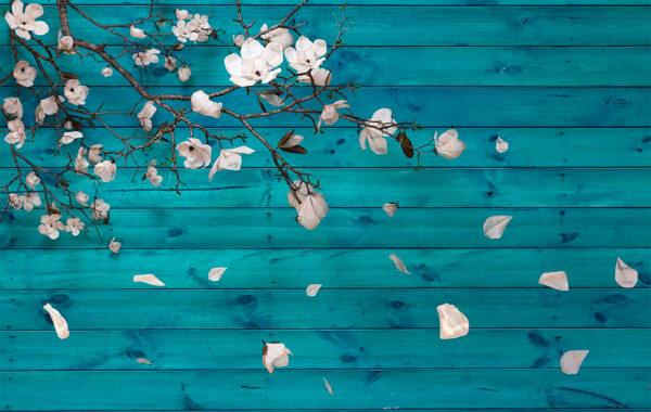 Kaufen Fototapeten Autunno Aquamarin | 3d fototapeten