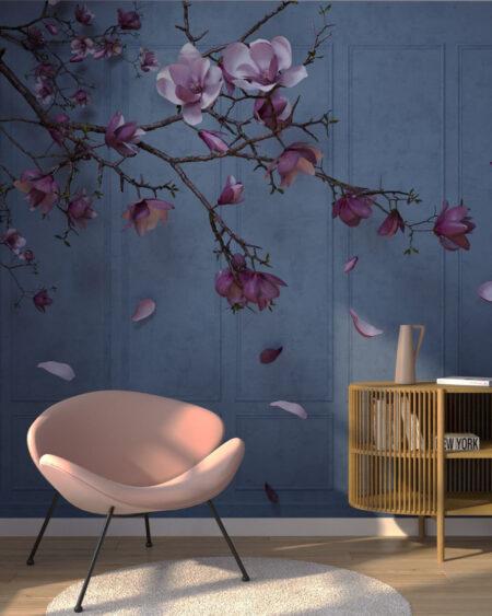 Design Fototapeten Autunno Sapphirine | fototapete natur