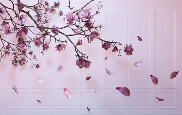 Design Fototapeten Autunno Sapphirine Beispiel lila | fototapete natur