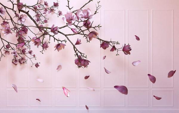 Design Fototapeten Autunno Sapphirine Beispiel rosa | fototapete natur